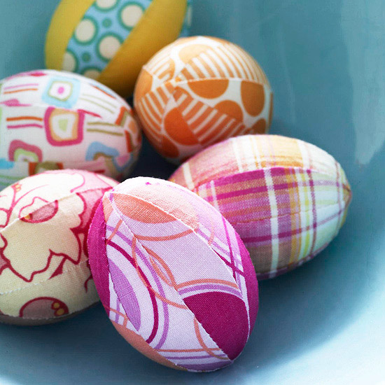 fabric-covered-easter-eggs