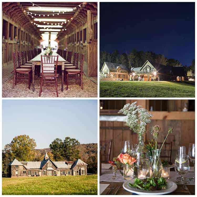 Barn Wedding Venues: Rustic Chic Barn Wedding Venues In Georgia