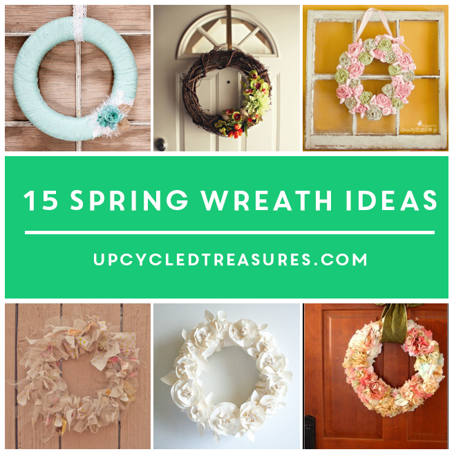 15-DIY-spring-wreath-ideas-upcycledtreasures