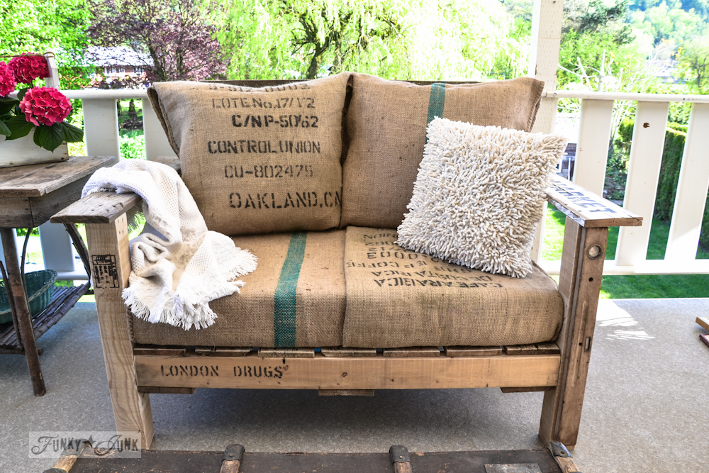 Wood Pallet Chair | Funky Junk Interiors