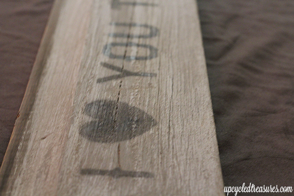 Diy wood sign using your printer for Printer transfer paper for wood