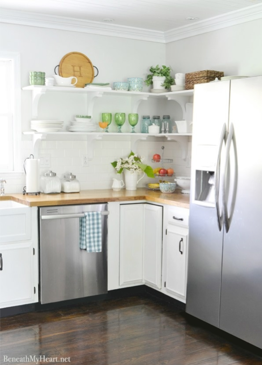 7 Inspiring Summer Spaces Kitchen-inspiration-beneath-my-heart