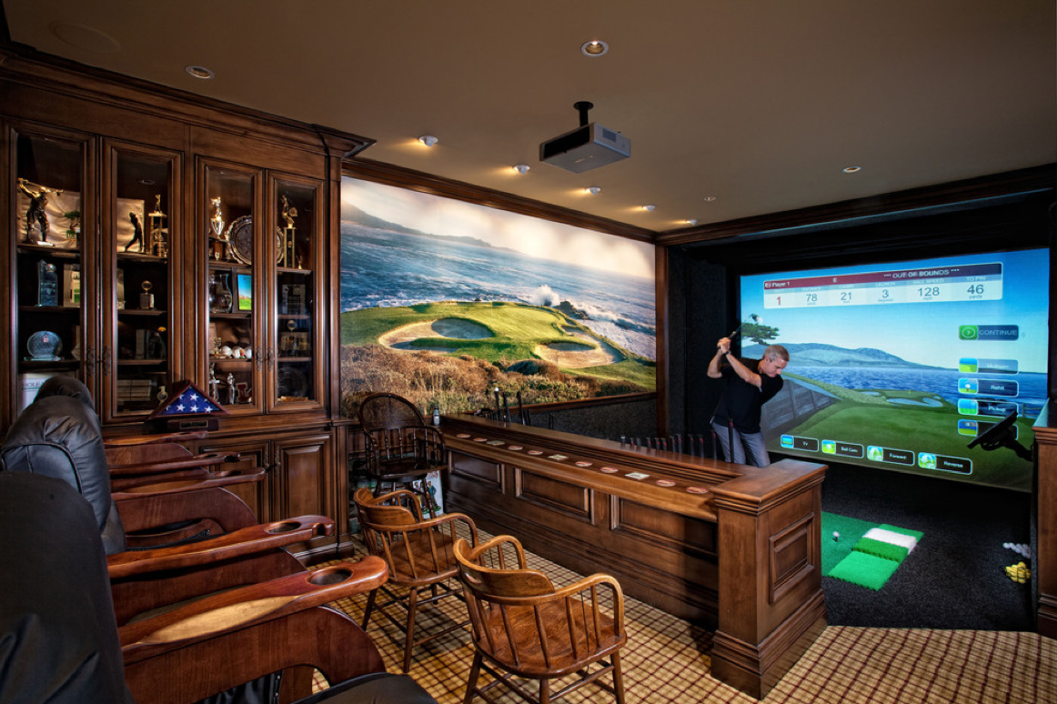 10 awesome man cave ideas for Awesome home decor ideas