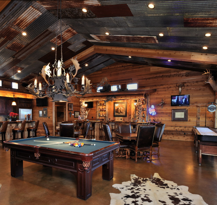 40 Cool Rustic Bar Design: 10 Awesome Man Cave Ideas