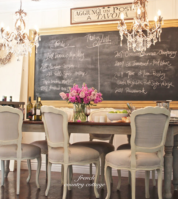 french-country-cottage-large-chalkboard-frame