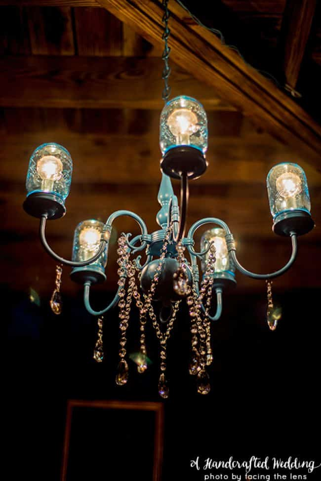 Mason Jar Chandelier | MountainModernLife.com