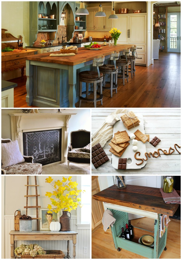 Rustic Inspired Projects and spaces for fall