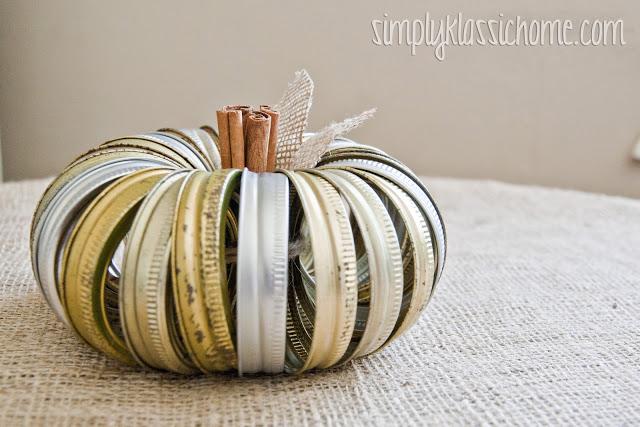 Canning Jar Pumpkin via Yellow Bliss Road