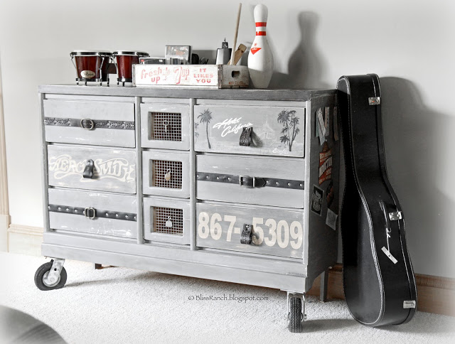 Rock & Roll Dresser via Bliss Ranch