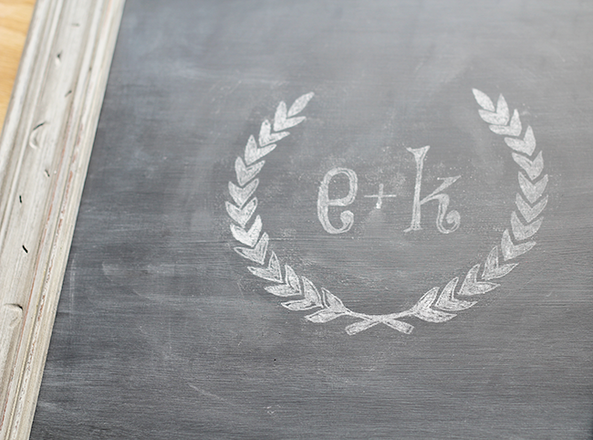 DIY Chalkboard Lettering Transfer - See how easy it can be to Transfer Designs onto Chalkboards using your printer! MountainModernLife.com