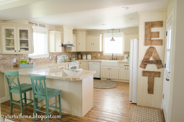 Favorite Space: Kitchen Makeover via Start at Home