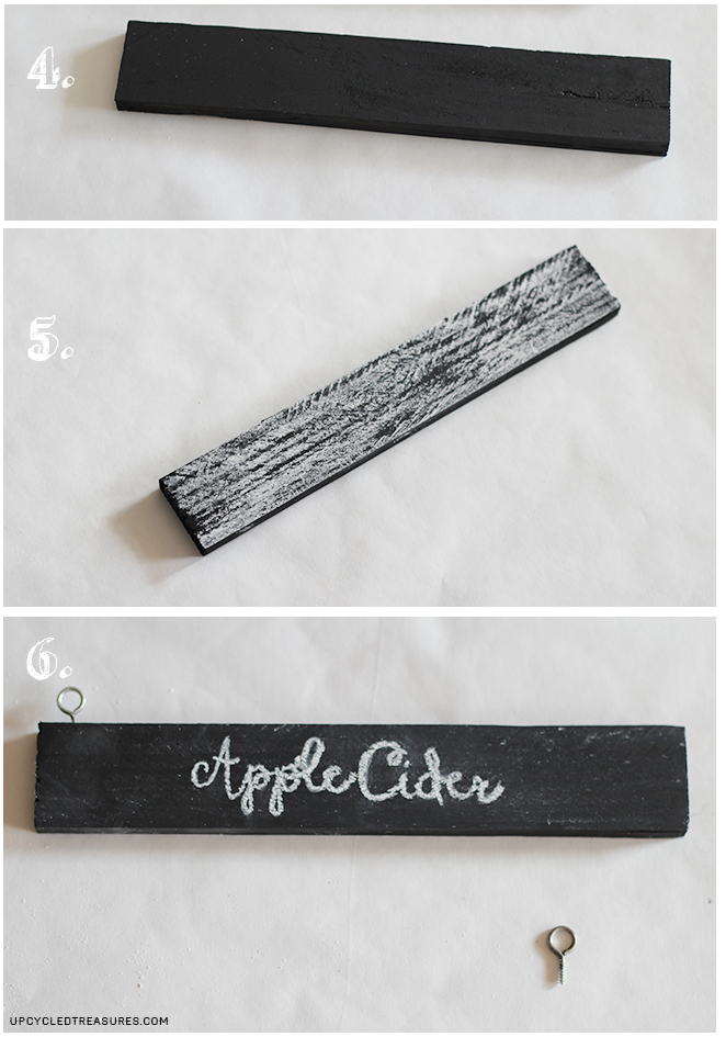 Easy Peasy DIY Chalkboard Labels - How to create your own Chalkboard Labels using chalkboard paint and plain labels or stickers! MountainModernLife.com