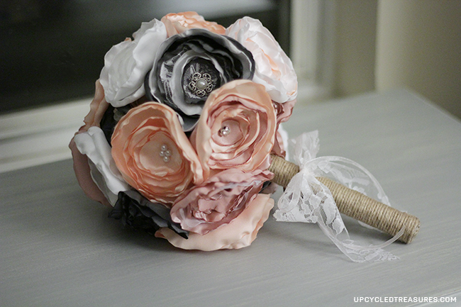 diy-fabric-wedding-bouquet