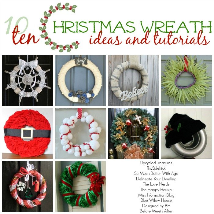 Nautical Christmas Wreath.10 Diy Christmas Wreath Ideas Upcycled Treasures