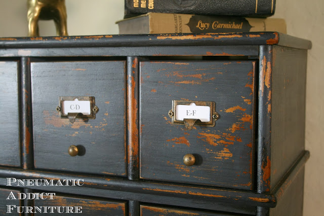 Milk Paint Card Catalog via Pneumatic Addict