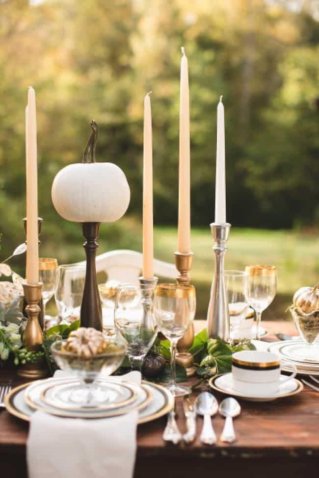 50 Nature Inspired Thanksgiving Tablescapes