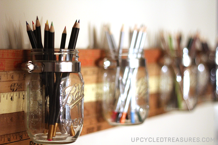 diy-mason-jar-organizer-with-vintage-yardsticks-upcycledtreasures