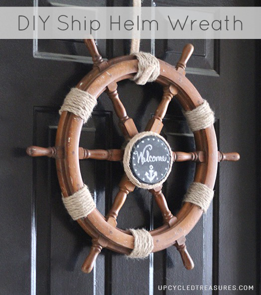 diy-nautical-ship-helm-wreath-upcycledtreasures