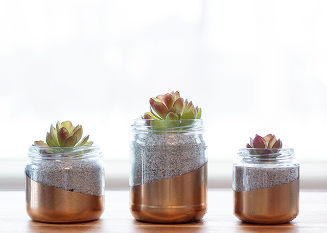 Metallic-glass-jar-Planter-circusberry