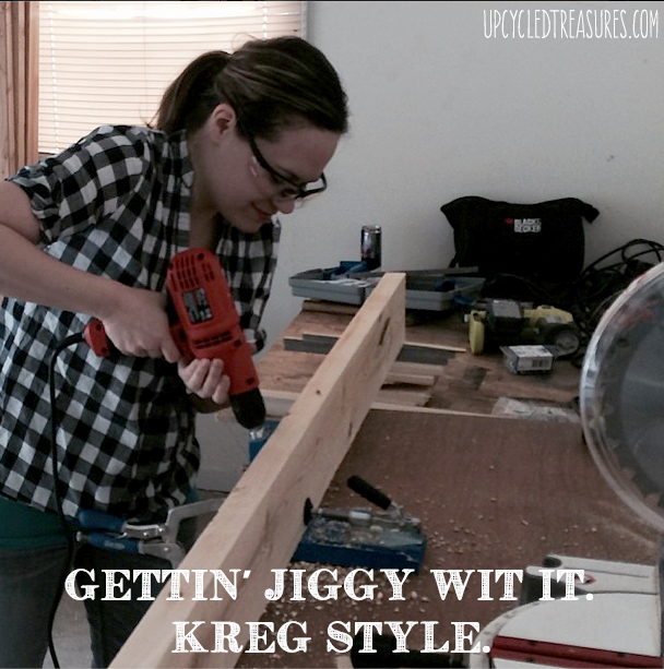 upcycledtreasures-using-kreg-jig-for-diy-desk-gettin-jiggy-wit-it copy