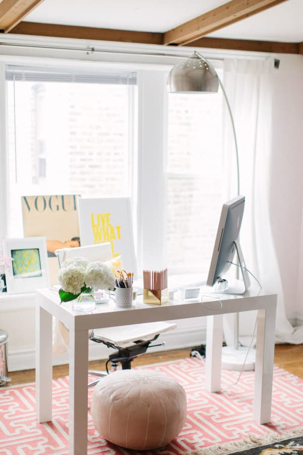 Creative Workspace Everygirl style me pretty