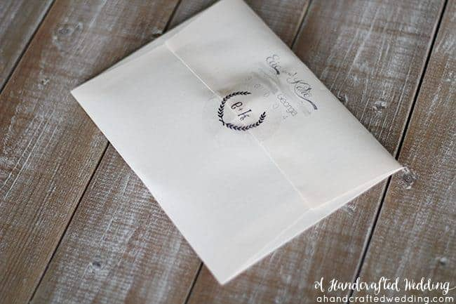 Are DIY Wedding Invitations Worth It? See how much we spent on our DIY invitations and decide if it's worth your time and energy. MountainModernLife.com