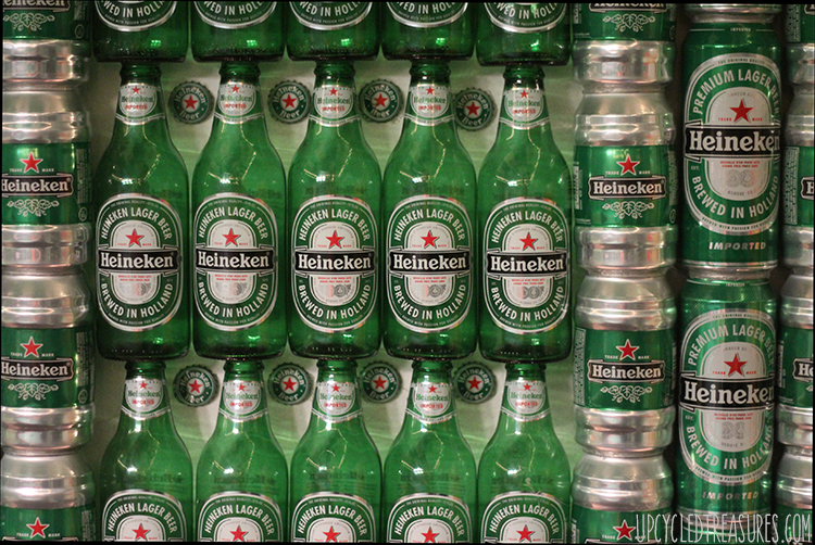 The Heineken Man Cave - Inspired by the Heineken Closet Commercial - UpcycledTreasures.com