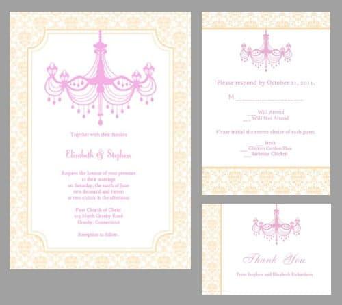 Wedding Chicks Free Invitations: FREE Wedding Invitation Templates