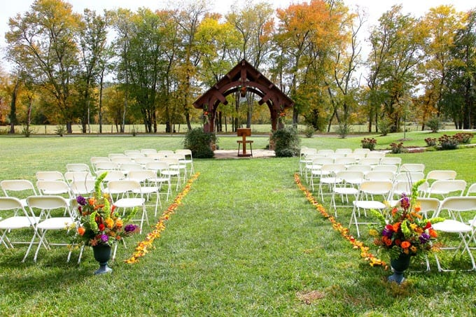 Are you in need of a rustic barn wedding venue? Check out this North Carolina Barn Wedding Venue, McGuire's Millrace Farm.