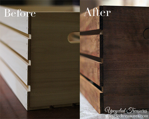 See How Easy It Is To Make New Wood Look Old