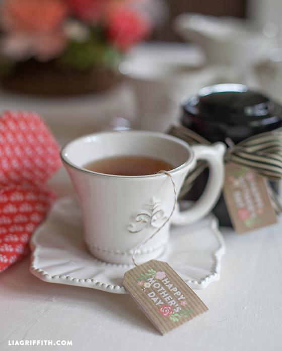 15 FREE Mother's Day Printable Tea Tags | upcycledtreasures.com