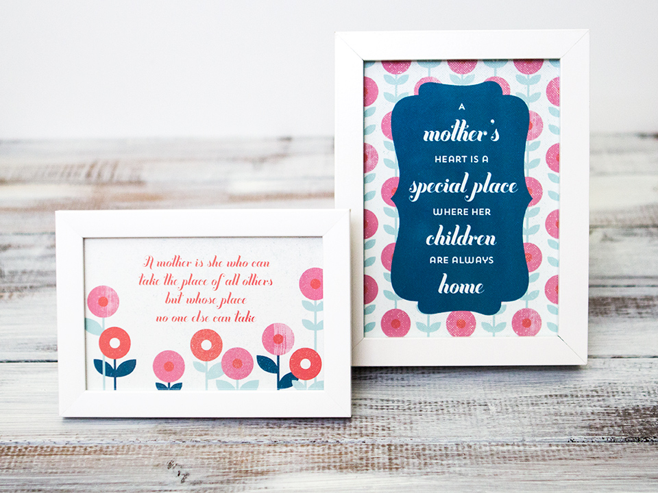 15 FREE Mother's Day Printables   upcycledtreasures.com