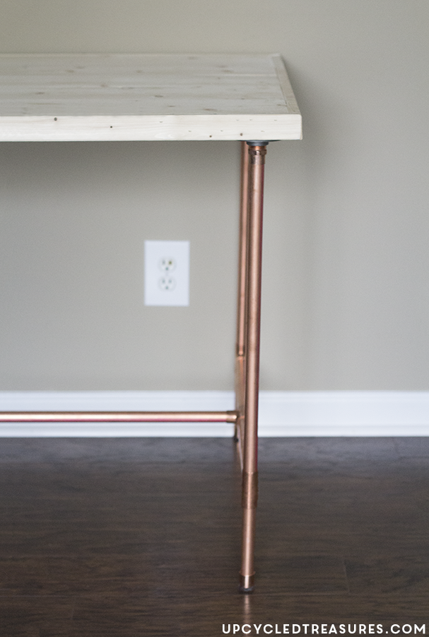 Diy Copper Pipe Desk Mountainmodernlife Com