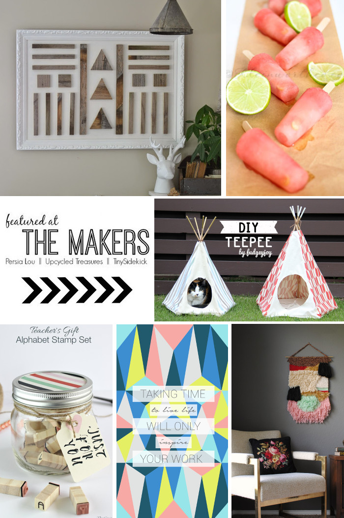 The-Makers-Link-Party-Features-from-Creative-DIY-Bloggers-upcycledtreasures