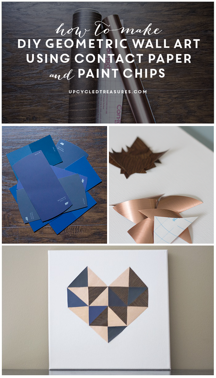 Looking for an easy way to add some flare to your walls? Check out this tutorial on how to create DIY Wall Art using Contact Paper! MountainModernLife.com