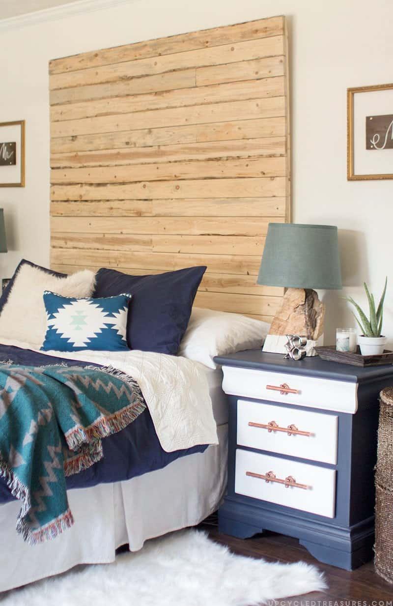 DIY rustic wood lamp | MountainModernLife.com