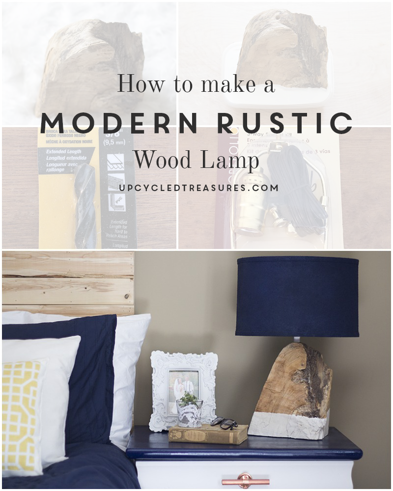 Diy Modern Rustic Wood Lamp Mountain Modern Life