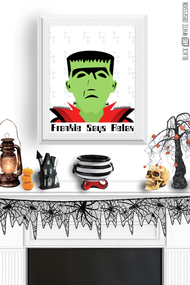 Free-Halloween-Print-Frankenstein-Wall-Art