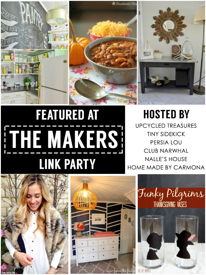 The Makers Link Party Featured Creative Bloggers