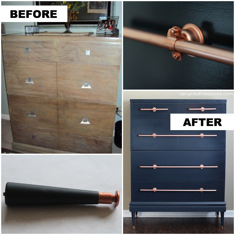 Dresser-with-DIY-Copper-Pipe-Drawer-Pulls-upcycledtreasures