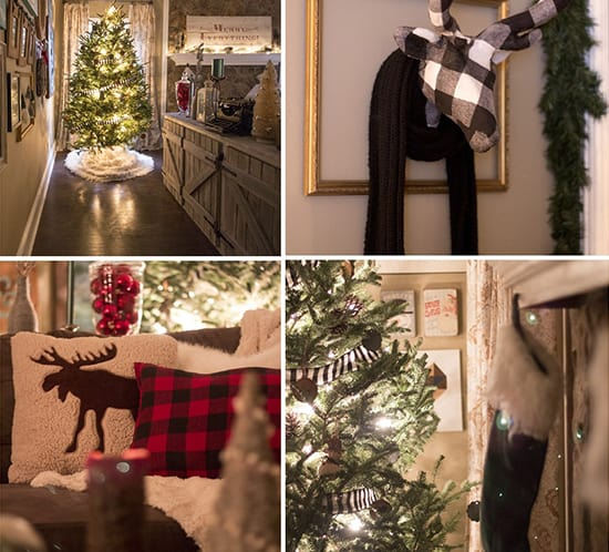 rustic woodland lodge inspired christmas mountainmodernlife.com