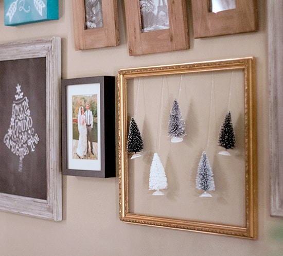 whimsical diy christmas decor floating trees mountainmodernlife.com