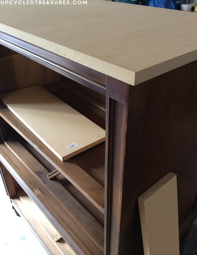 how-to-replace-damaged-thrifted-furniture-top-with-mdf-upcycledtreasures