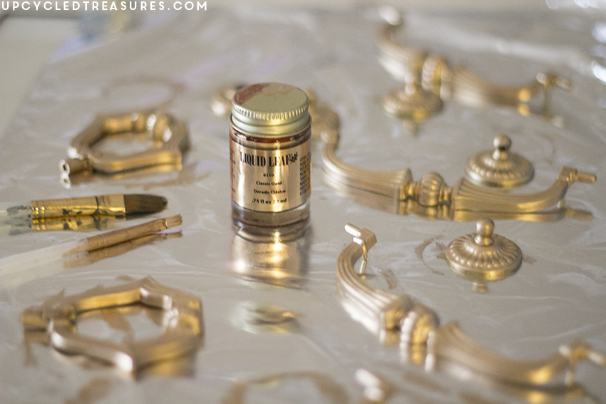 liquid-leaf-classic-gold-on-furniture-hardware-upcycledtreasures