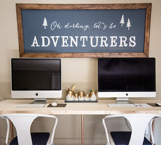 DIY Wall Art Using Easy Design Transfer Oh Darling Lets be Adventurers mountainmodernlife.com