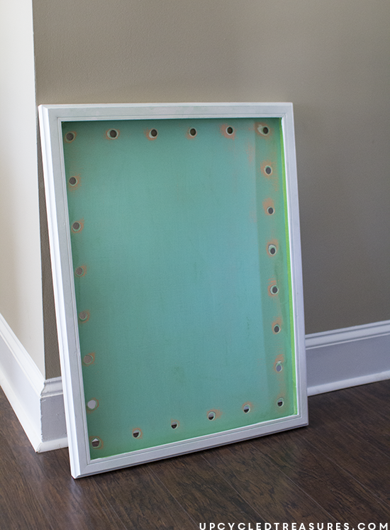 how to make a marquee sign 2 - upcycledtreasures.com