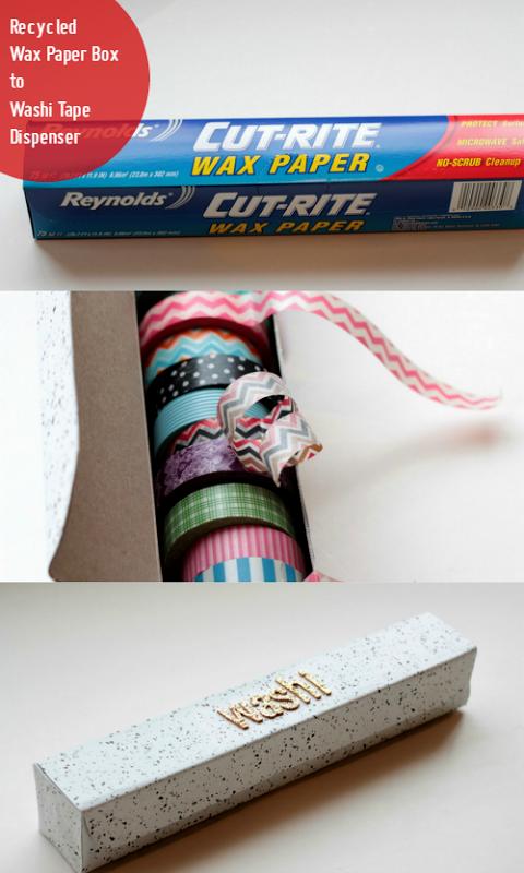 Wax Paper Box to Washi Tape Dispenser via homework (1)[19]