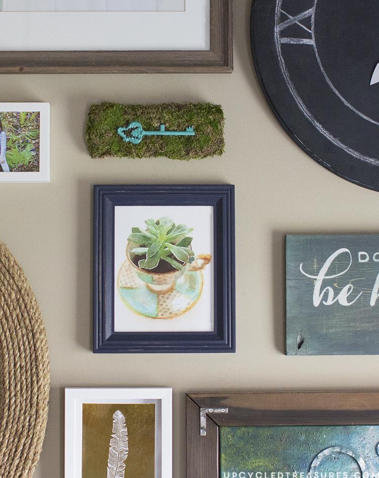 diy moss wall decor. Black Bedroom Furniture Sets. Home Design Ideas