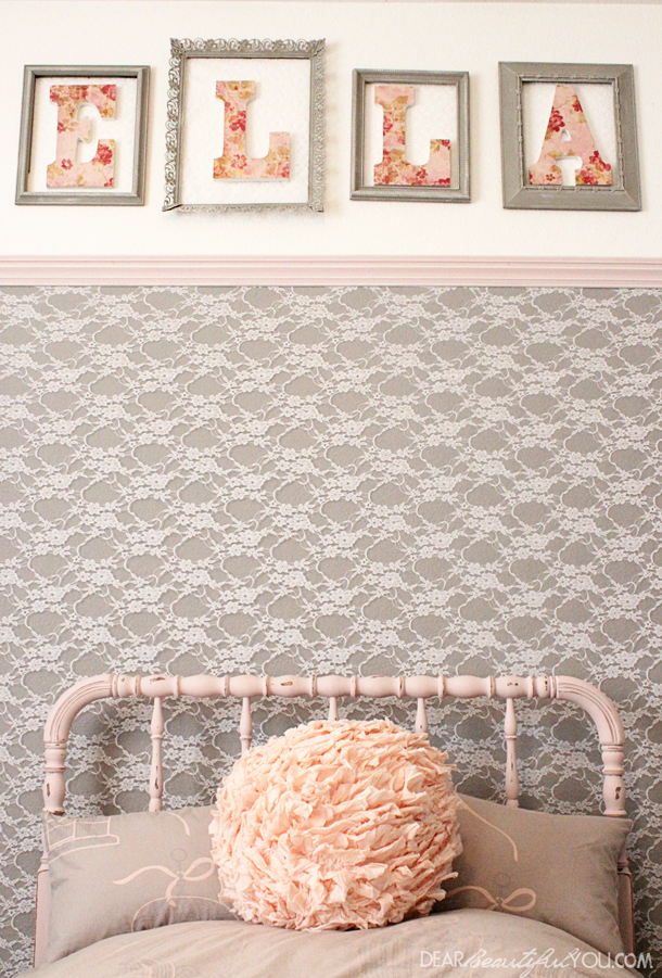 Lace Accent Wall