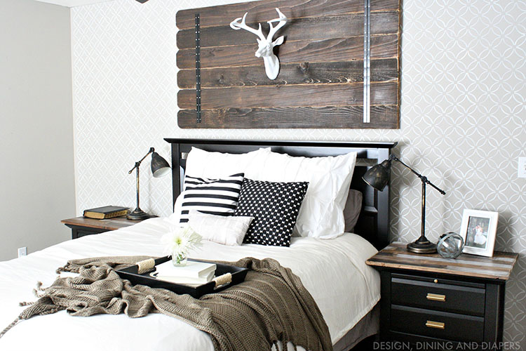 20 Modern Rustic Bedroom Retreats | upcycledtreasures.com